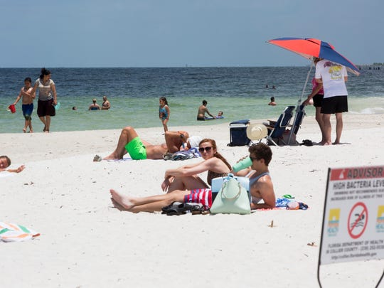 A health advisory warning was lifted Friday afternoon by the Florida Department of Health in Collier County for the water surrounding the Naples Pier. A roughly four-block section of the beach had been placed on the health warning since Monday of this week due to high levels of bacteria most likely caused by high levels of rainfall and runoff.