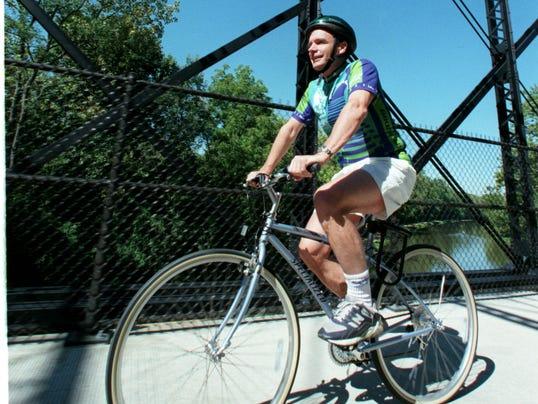 Railroad bike trails