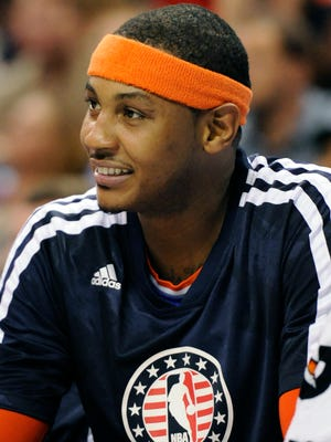 Carmelo Anthony is one of the best scorers in the NBA.