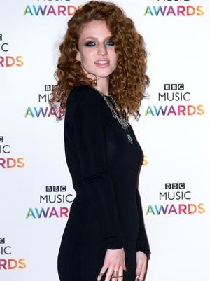 Jess Glynne attends the BBC Music Awards at Earl's Court Exhibition Centre on Dec. 11, 2014, in London.