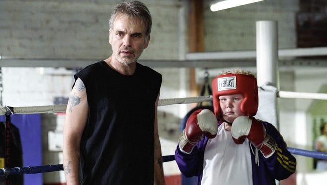 Billy Bob Thornton (left) and Brett Kelly in 2003's 'Bad Santa.'