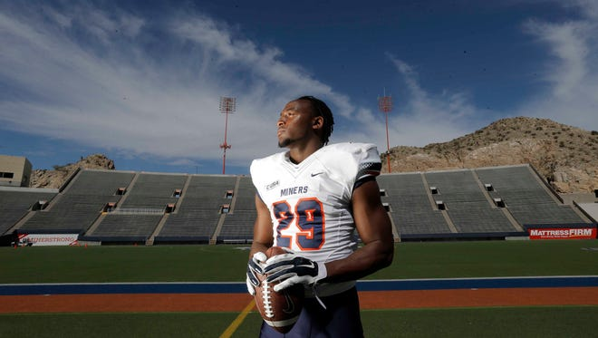 Aaron Jones UTEP running back is out for the rest of the 2015 season due to injuries.