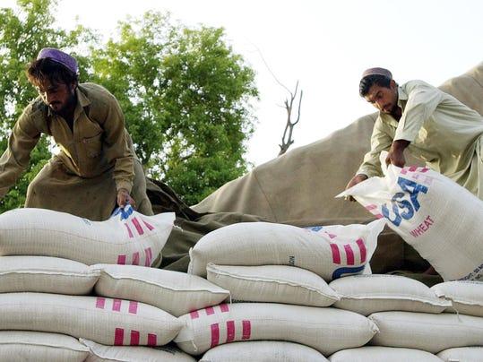 World Food Program Trucks Ready To Assist