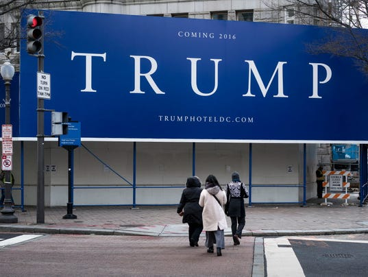Site of the Trump International Hotel in Washington, D.C. (Photo ...