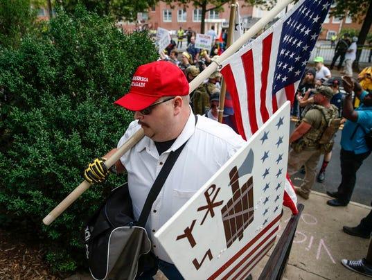 USP NEWS: UNITE THE RIGHT RALLY USA VA