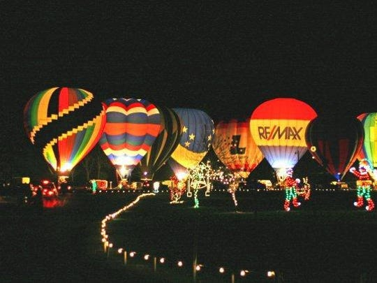 The Balloon Glow event will be held Friday night at Ozark's Finley River Park along with Sertoma Duck Race Festival activities.