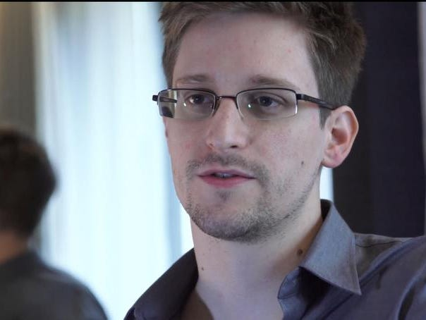 This June 9, 2013, file photo shows Edward Snowden, in Hong Kong.