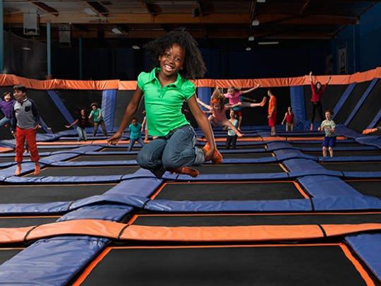 You can do more at trampoline parks than just jump, but kids really really do love jumping.