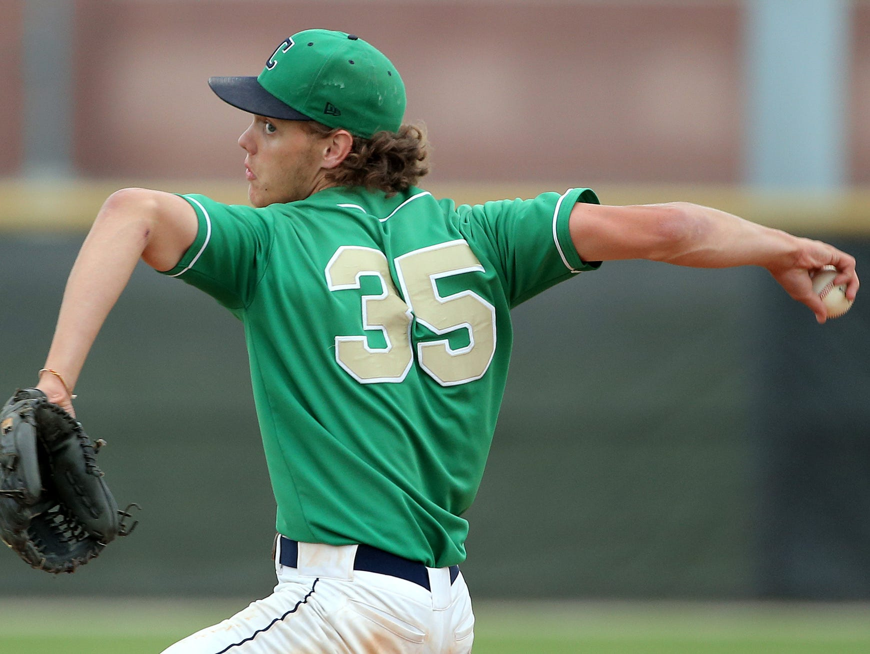 Cathedral pitcher Ashe Russell won back-to-back Gatorade Player of the Year awards.
