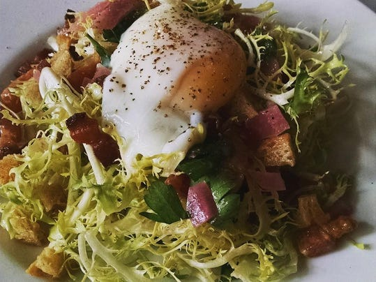 Frisee Salad with Poached Egg