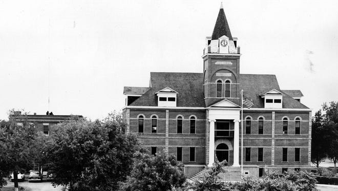 10/24/1954 One of the oldest courthouses in New Mexico, the Luna County Courthouse is noted for its long and efficient operation.
