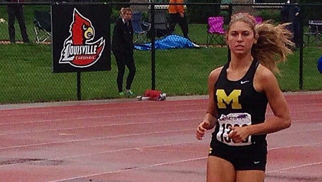 McAuley's McKenzie Pfeifer was offered by Louisville Sunday night.