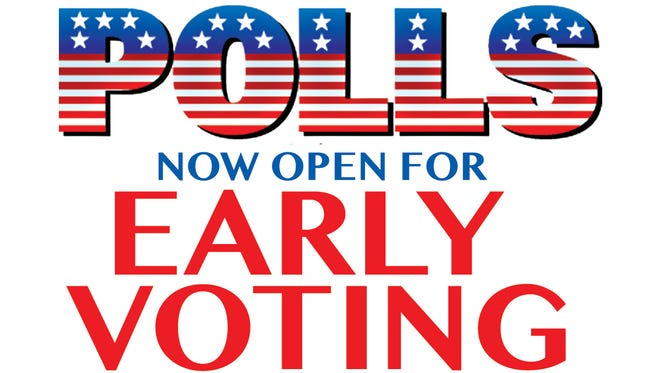 Early voting underway in Williamson County, now through November 3.