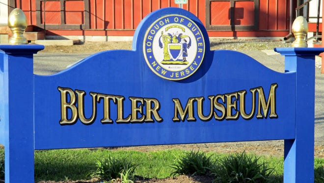 Sign outside Butler Museum.