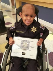 Make-A-Wish and a Mississippi law enforcement team