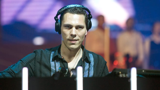 Award-winning electronic dance music producer Tiësto will be headlining at this year's Neon Desert Music Festival.