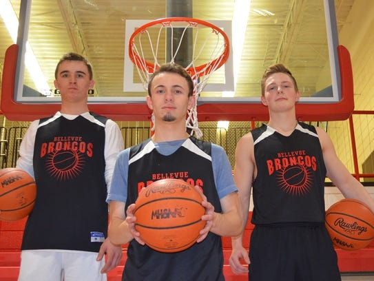 The undefeated Bellevue Broncos are ranked No. 3 in