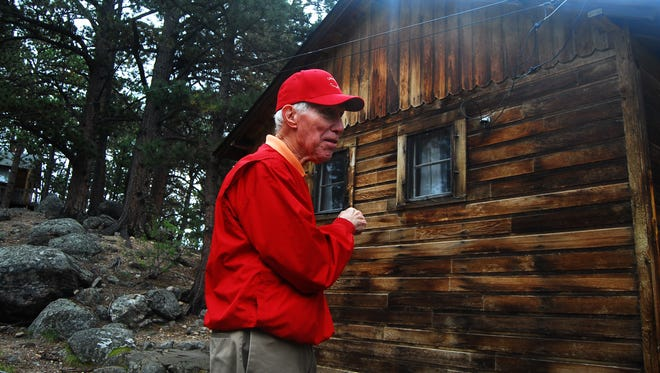 Richard Sipe, 87, is the last manager of the Cascade Cottages property in Rocky Mountain National Park. The 42-acres was sold this spring to the park after decades of hosting travelers in the 14 cabins.