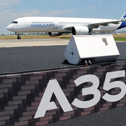 First flight of the Airbus A350
