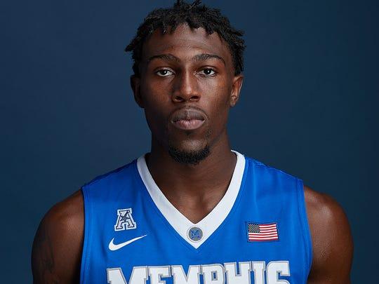 Memphis junior Malik Rhodes