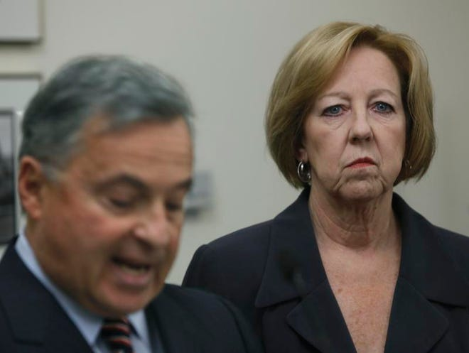 Former Attorney General Dennis Vacco, left, is leading an investigation for Monroe County into Monroe County, which has already resulted in the arrest of the husband of Maggie Brooks.