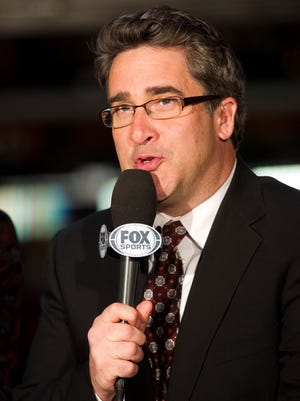 Coyotes TV host Todd Walsh