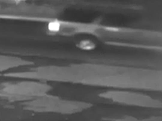 Police are circulating surveillance video of the vehicle