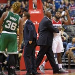 Wall will miss Wizards' game at Bulls