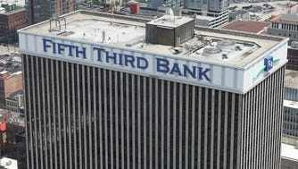 The Fifth Third Center in downtown, Cincinnati. Picture taken on Monday, May 21, 2018.