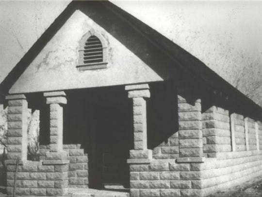 First Indian church
