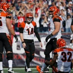 Bengals notes: Ogbuehi pulled, Bodine hurt as OL shifts