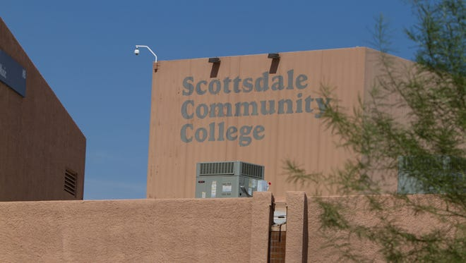 Scottsdale Community College located on Chaparral Road
