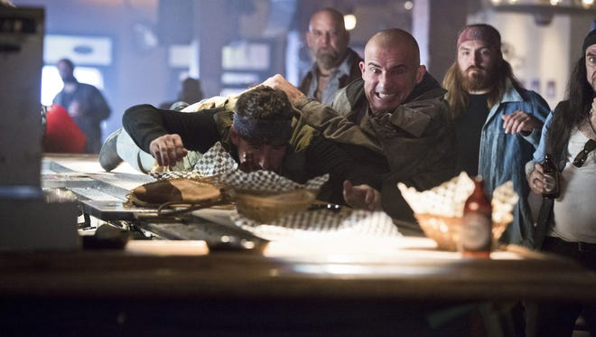 """Heat Wave (Dominic Purcell) is often up to no good — and he's one of the good guys on """"DC's Legends of Tomorrow."""""""