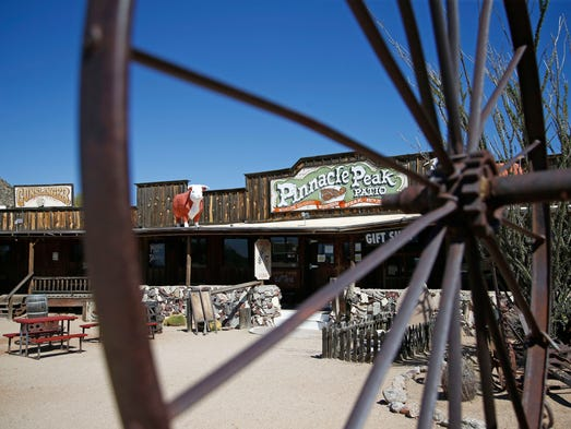 Pinnacle Peak Patio has been in business since 1957, but the owners have sold the land to a developer.