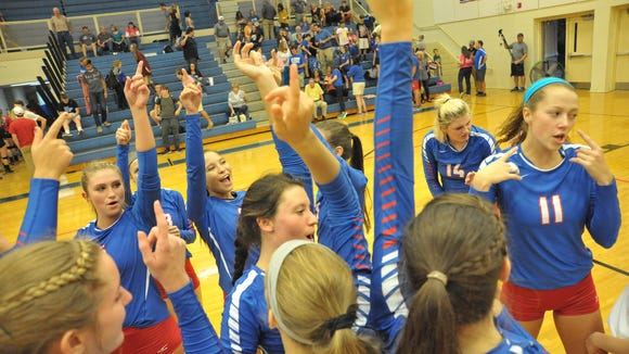 The West Henderson volleyball team completed a 21-0 record season on Tuesday.