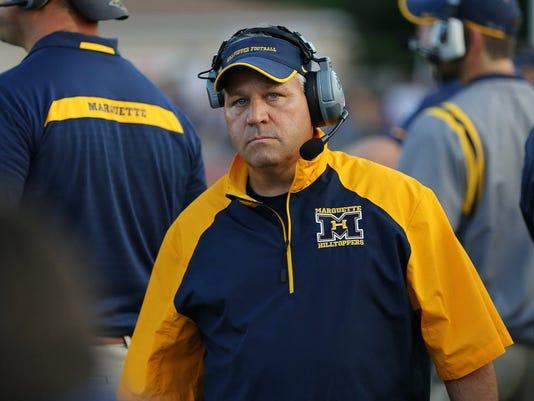Marquette coach Jeff Mazurczak