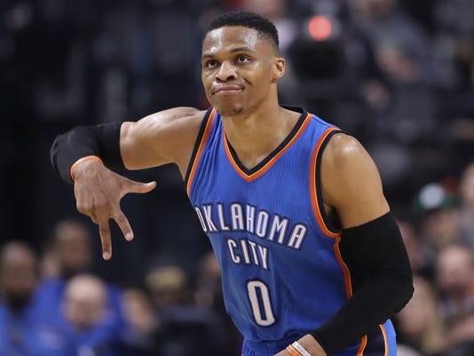 USP NBA: OKLAHOMA CITY THUNDER AT TORONTO RAPTORS S BKN TOR OKC CAN ON