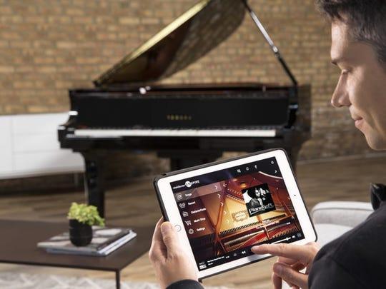 Yamaha Disklavier Enspire piano