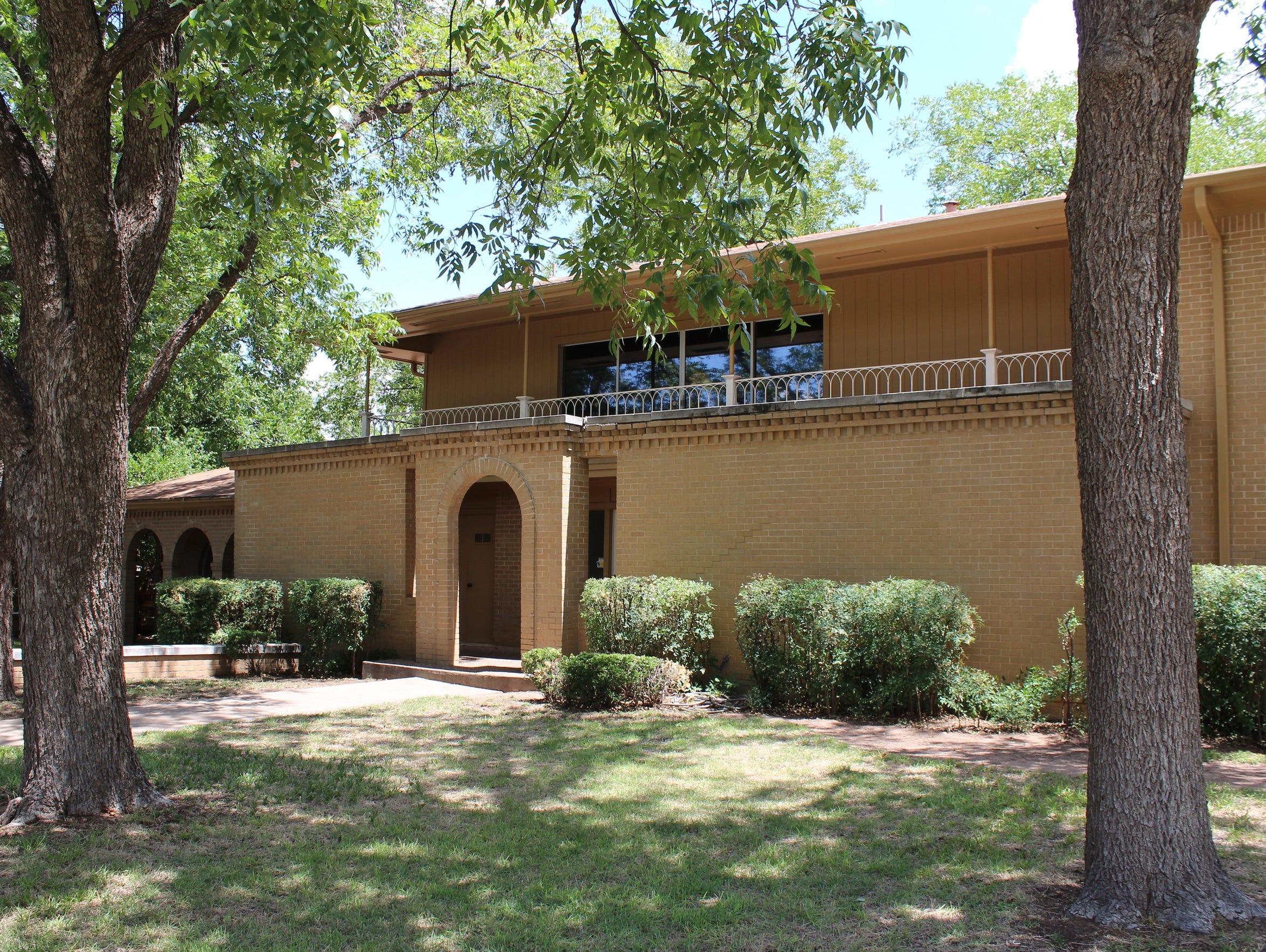 At 609 Scott Place in east Abilene, Chris Christian