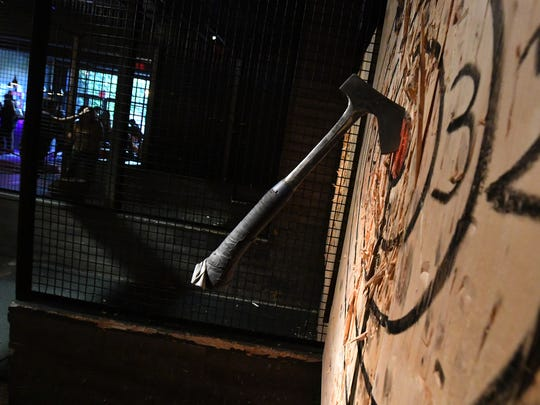 Ax-throwing classes have become a hit in New York and other parts of the country. Yes, people learn how to throw axes in a controlled, enclosed environment. Kick Axe is in Brooklyn, New York