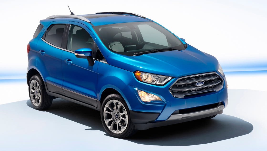 2018 ford ecosport suv is capable connected. Black Bedroom Furniture Sets. Home Design Ideas
