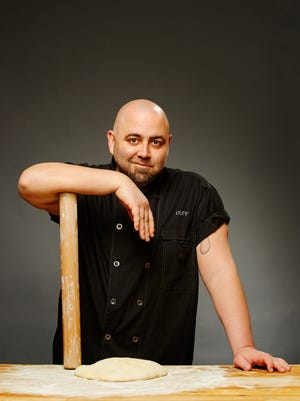 Duff Goldman has used the same rolling pin for 20 years to create his one-of-a-kind cakes.