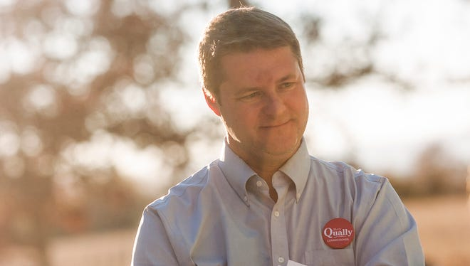 Marty Qually (D) is running against Rep. Dan Moul in the 91st House District race.