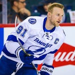 Tampa Bay Lightning center Steven Stamkos has 22 goals and 42 points this season.