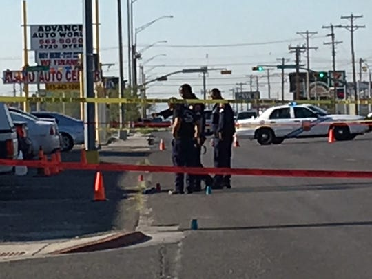 The El Paso Police Department is investigating a shooting