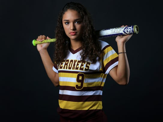 All-South Texas Newcomer of the Year Jordyn Torre from