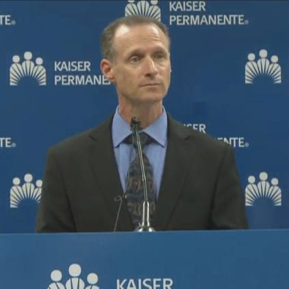 California Department of Public Health Director Dr. Ron Chapman announces patient at Kaiser Permanente South Sacramento Medical Center tested negative for the Ebola virus.