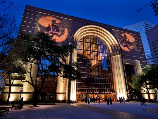 The 437,500-square-foot Wortham Theater Center is home
