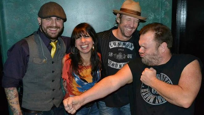Popular New Orleans rockers Cowboy Mouth will anchor the entertainment today at the Pensacola Crawfish Festival.