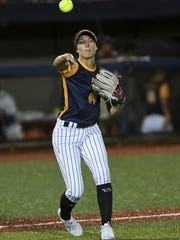 Courtney Ceo of the USSSA Pride during Thursday's game